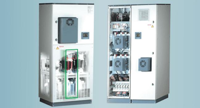 Стабилизация напряжения сети и компенсация реактивной мощности Elspec